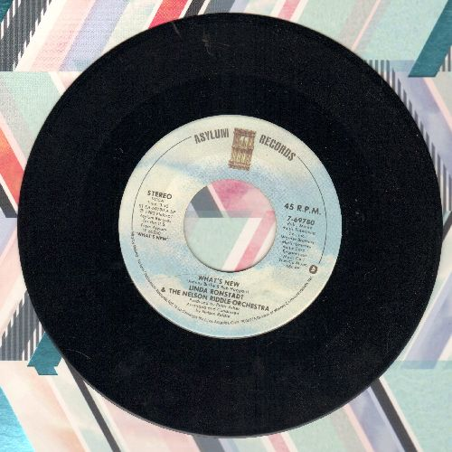 Ronstadt, Linda - What's New/Crazy He Calls Me - NM9/ - 45 rpm Records