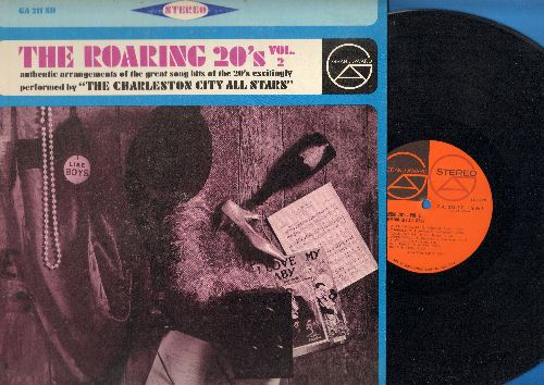 Charleston City All-Stars - The Roaring 20s Vol. 2: Ain't She Sweet, Charleston, Toot Toot Tootsie, I Want To Be Happy (Vinyl STEREO LP record) - EX8/EX8 - LP Records