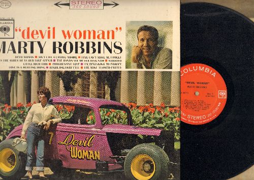 Robbins, Marty - Devil Woman: Little Rich Girl, Ain't Life A Crying Shame, Progressive Love (vinyl STEREO LP record) - EX8/EX8 - LP Records
