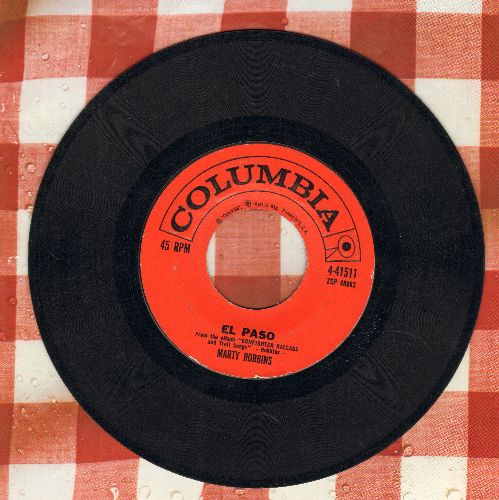 Robbins, Marty - El Paso/Running Gun (first issue) - VG7/ - 45 rpm Records