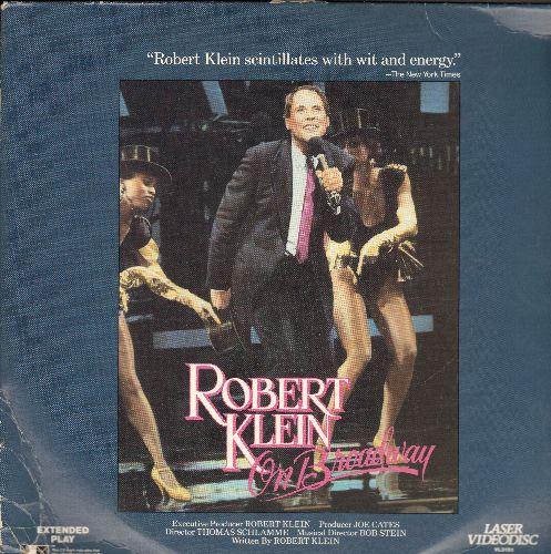 Klein, Robert - Robert Klein On Brodway LASERDISC - NM9/VG7 - LaserDiscs