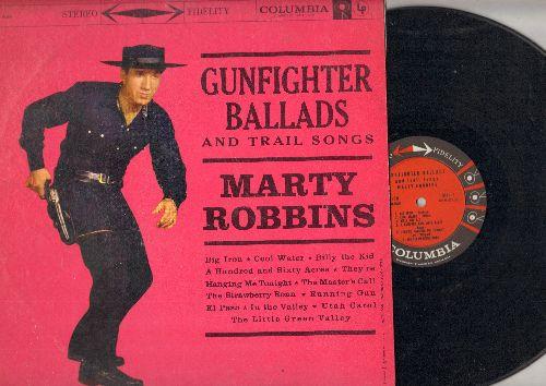 Robbins, Marty - Gunfighter Ballads: Big Iron, El Paso, Running Gun, Strawberry Roan  (vinyl STEREO LP record) - EX8/EX8 - LP Records