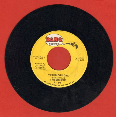 Morrison, Van - Brown Eyed Girl/Goodbye Baby (Baby Goodbye) - EX8/ - 45 rpm Records