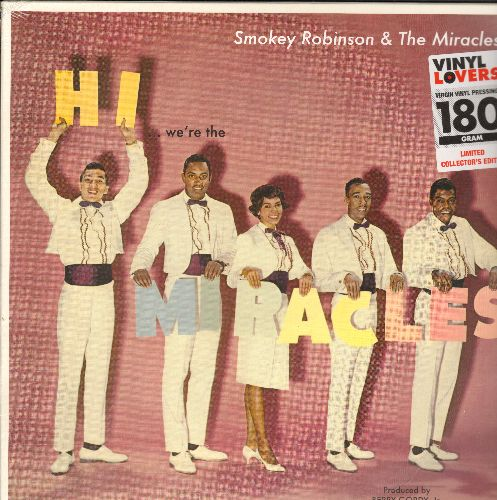Miracles - Hi We're The Miracles: Mighty Good Lovin', Shop Around, Money, Bad Girl, Don't Leave Me, Your Love (Vinyl MONO LP record, 180 gram Virgin Vinyl re-issue, EU Import) - SEALED/SEALED - LP Records