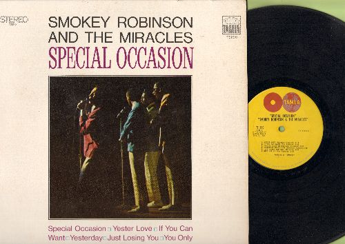 Robinson, Smokey & The Miracles - Special Occasion: Yester Love, Give Her Up, I Heard It Through The Grapevine, Yesterday, Much Better Off (Vinyl STEREO LP record) - EX8/EX8 - LP Records