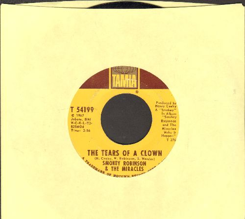 Robinson, Smokey & The Miracles - The Tears Of A Clown/Promise Me (wol) - VG7/ - 45 rpm Records