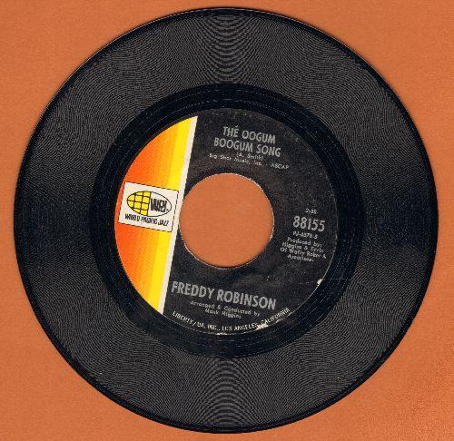 Robinson, Freddy - The Oogum Boogum Song (FANTASTIC Instrumental Jazz version of the R&B Hit)/Black Fox - VG6/ - 45 rpm Records
