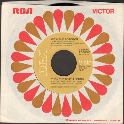 Robinson, Vicki Sue - Turn The Beat Around/Lack Of Respect - NM9/ - 45 rpm Records