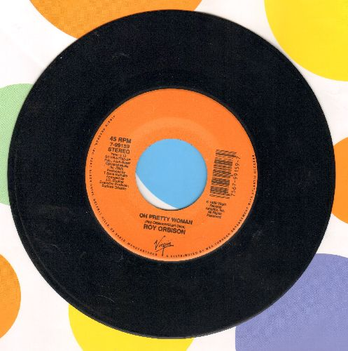 Orbison, Roy - Oh Pretty Woman (LIVE!)/Claudette - EX8/ - 45 rpm Records