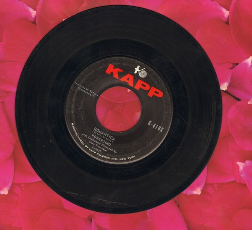 Robertino - Romantica/O Sole Mio (US Pressing, sung in Italian) - VG7/ - 45 rpm Records
