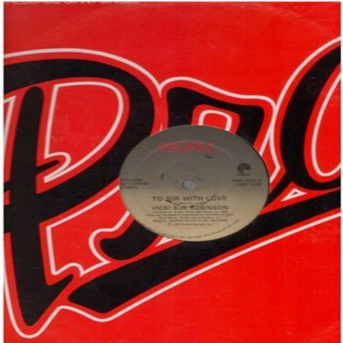 Robinson, Vicki Sue - To Sir With Love/To Sir With Love (Instrumental) (12 inch 33rpm Maxi Single) - NM9/ - LP Records