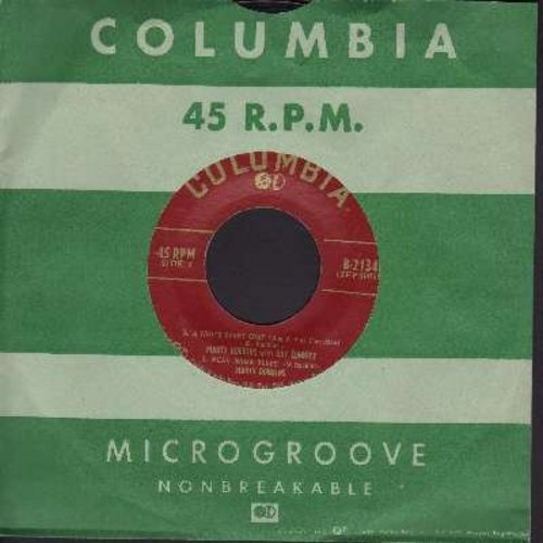 Robbins, Marty - A White Sport Coat (And A Pink Carnation)/Mean Mama Blues/Grown-Up Tears/Long Tall Sally (Vinyl EP record with vintage Columbia company sleeve) - EX8/ - 45 rpm Records