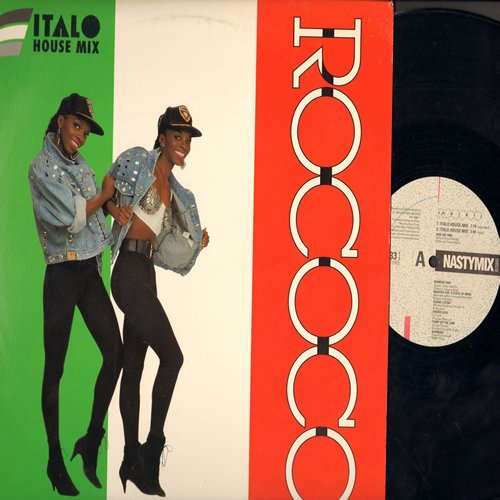 Rococo - Italo House Mix - 12 inch 33rpm Maxi Single featuring 4 Extended Dance Mix Tracks featuring hits Ride On Time, Pump Up The Jam, Sueno Lation a. o. - EX8/NM9 - Maxi Singles