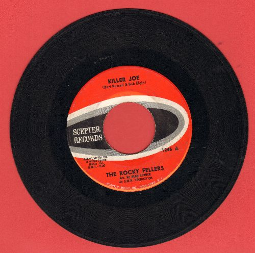 Rocky Fellers - Killer Joe/Lonely Teardrops  - EX8/ - 45 rpm Records