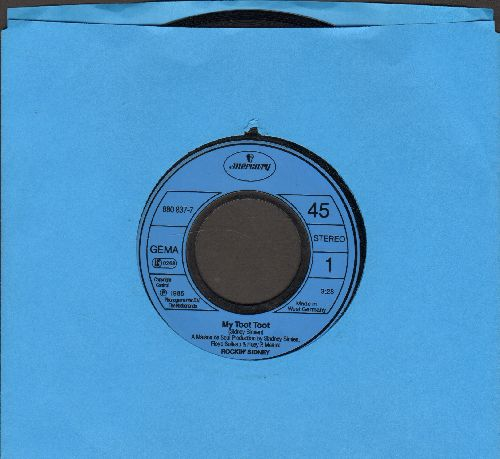 Rockin' Sidney - My Toot-Toot (PARTY FAVORITE!)/Jalapeno Lena (German Pressing) - NM9/ - 45 rpm Records