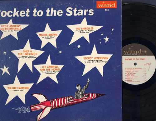 Henderson, Jocko, Shirelles, Maxine Brown, Little Anthony & The Imperials, others - Rocket To The Stars: Blast Off To Love, Funny, Tears On My Pillow, Long Lonely Nights (vinyl MONO LP record) - NM9/EX8 - LP Records