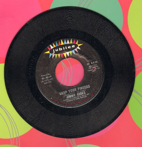 Ricks, Jimmy - Snap Your Fingers/Wigglin' And Gigglin' (bb) - EX8/ - 45 rpm Records