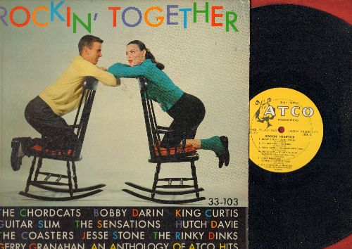 Coasters, Bobby Darin, Chordcats, others - Rockin' Together: Yakety Yak, Splish Splash, Yes Sir That's My Baby, Sh-Boom, Confess It To Your Heart (Vinyl MONO LP record, RARE 1959 first pressing!) - EX8/EX8 - LP Records