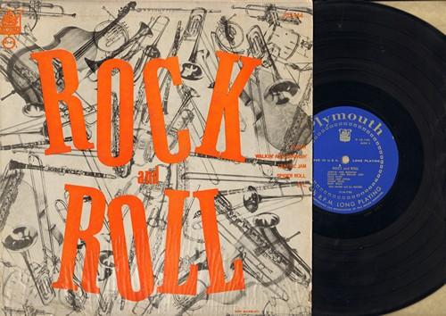 Gates, Hen & His Gaters - Rock & Roll: Bunny Rock, Bear Walk, Hand Clappin', The Creep, T.N.T. (Vinyl LP record) - EX8/VG7 - LP Records