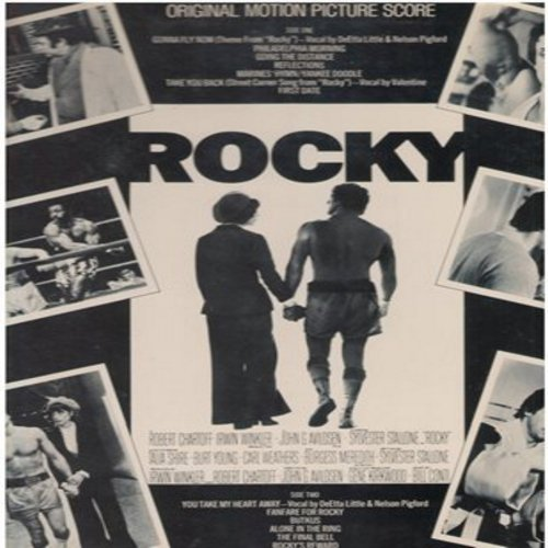 Conti, Bill - Rocky - Original Motion Picture Score (Vinyl STEREO LP record) - NM9/NM9 - LP Records