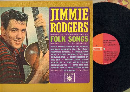 Rodgers, Jimmie - Folk Songs: Ghost Riders In The Sky, Scarlet Ribbons, Midnight Special, Greensleeves, Shenandoah (Vinyl LP record) - NM9/NM9 - LP Records