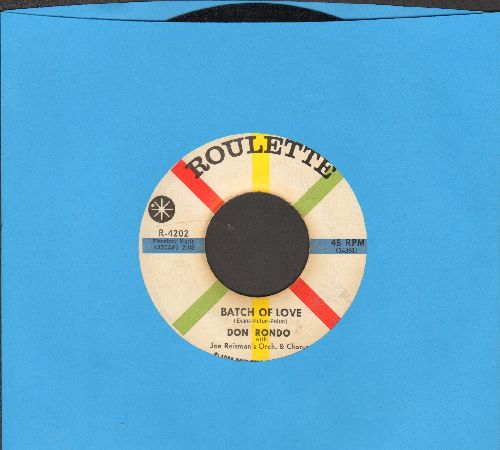 Rondo, Don - Quiet Girl/Batch Of Love - NM9/ - 45 rpm Records