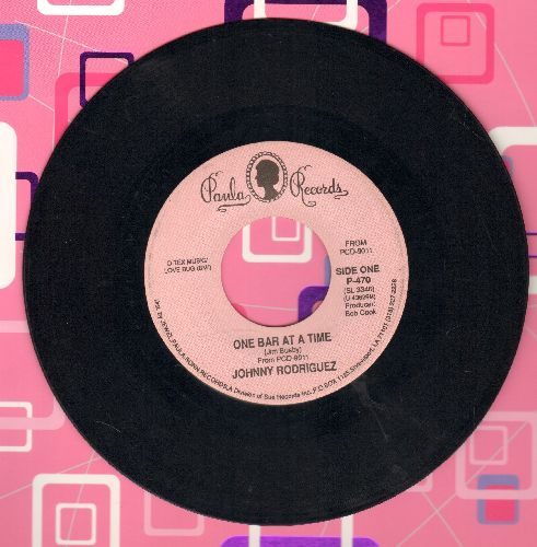 Rodriguesz, Johnny - One Bar At A Time/Down In The Boondocks - NM9/ - 45 rpm Records