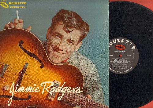 Rodgers, Jimmie - Jimmie Rodgers: Kisses Sweeter Than Wine, Honeycomb, Scarlet Ribbons, Women From Liberia, Hey Little Baby (vinyl MONO LP record) - NM9/EX8 - LP Records
