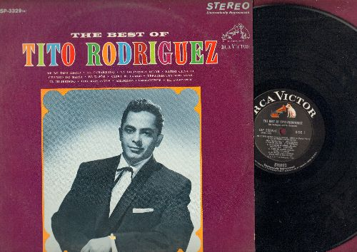 Rodriguez, Tito - The Best Of: Me Lo Dijo Adela, El Jamaiqueno, Los Machianos, El Guapeton (vinyl STEREO LP record) - NM9/EX8 - LP Records