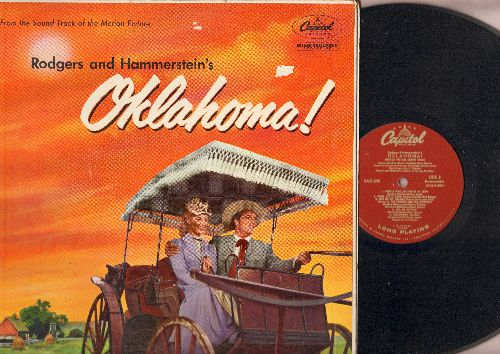 Oklahoma! - Oklahoma! - Original Motion Picture Sound Track, includes title song, Oh What A Beautiful Morning, I Cain't Say No, All Er Nothin', Kansas City, more! (RARE vinyl MONO pressing!) - EX8/EX8 - LP Records
