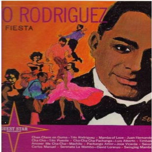 Rodriguez, Tito - Latin Fiesta: Mambo Of Love, Swingin' Mambo, Answer Me Cha Cha, Serenata La Mambo (Vinyl LP record) - NM9/EX8 - LP Records
