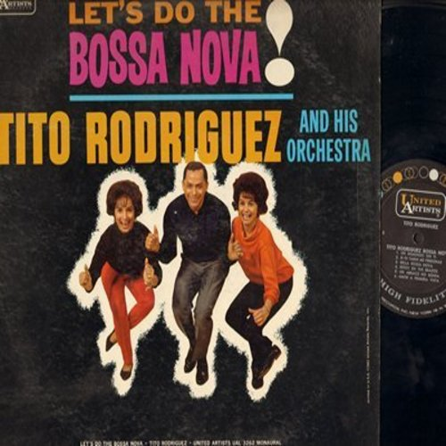 Rodriguez, Tito & His Orchestra - Let's Do The Bossa Nova!: Otra Vez, Un Domingo Sin Ti, Bella Bossa Nova, Amor A Primera Vista Amor Certhino (Vinyl MONO LP record) - NM9/EX8 - LP Records