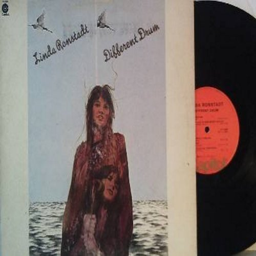 Ronstandt, Linda - Different Drum: Long Long Time, Will You Love Me Tomorrow, I'll Be Your Baby Tonight (Vinyl STEREO LP record) - EX8/VG7 - LP Records