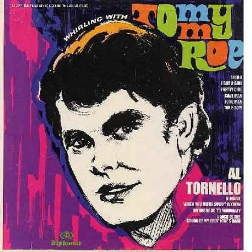 Roe, Tommy & Al Tornello - Whirling With Tommy Roe & Al Tornello: Sheila, Black Is The Color Of My True Love's Hair, I Got A Girl, O'Marie, Cave Man, On The Road To Mandalay (Vinyl STEREO LP record) - NM9/EX8 - LP Records