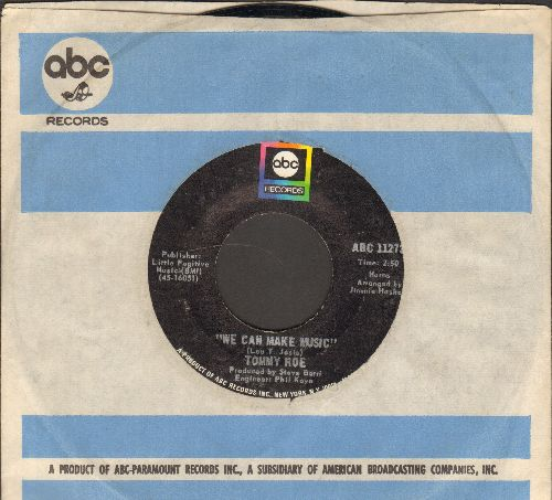 Roe, Tommy - We Can Make Music/Gotta Keep Rolling Along (with ABC company sleeve) - NM9/ - 45 rpm Records