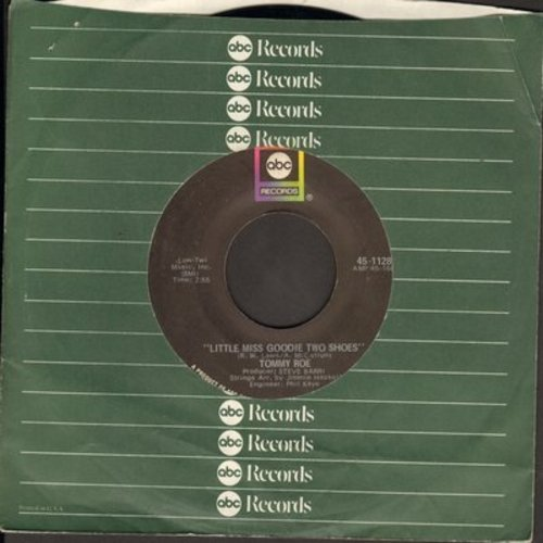 Roe, Tommy - Little Miss Sunshine/The You I Need (with ABC company sleeve) - NM9/ - 45 rpm Records