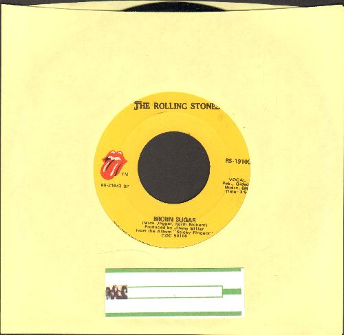 Rolling Stones - Brown Sugar/Bitch - EX8/ - 45 rpm Records