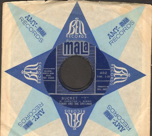 Ronny & The Daytonas - Bucket 'T'/Little Rail Job (with vintage Mala company sleeve) - NM9/ - 45 rpm Records