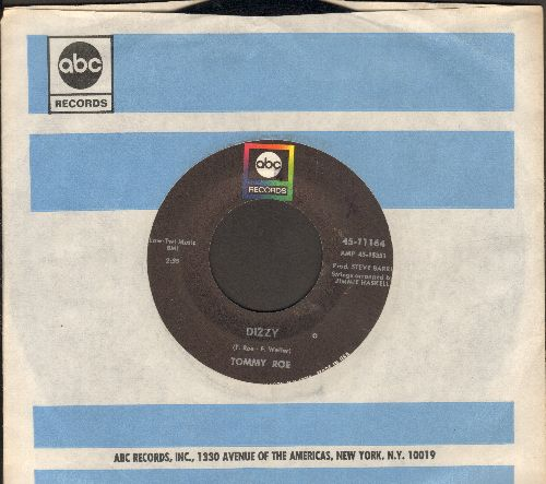 Roe, Tommy - Dizzy/The You I Need (with ABC company sleeve) - EX8/ - 45 rpm Records