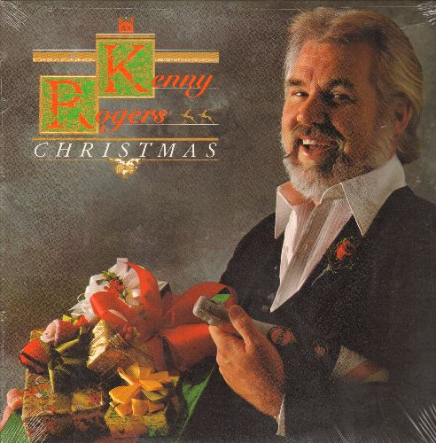 Rogers, Kenny - Christmas: Christmas Everyday, Kentucky Homemade Christmas, Carol Of The Bells, Kids, Sweet Little Jesus Boy, White Christmas, My Favorite Things, O  Holy Night, When A Child Is Born (Vinyl LP record, SEALED re-issue) - SEALED/SEALED - LP