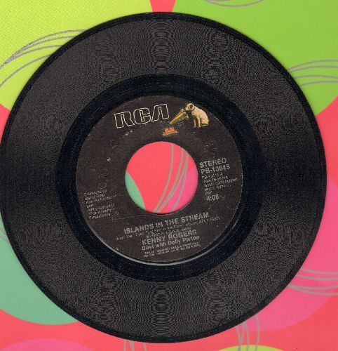 Rogers, Kenny & Dolly Parton - Islands In The Stream/I Will Always Love You  - VG6/ - 45 rpm Records