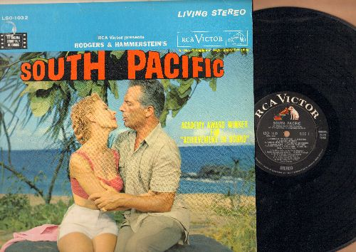 South Pacific - South Pacific - Original Motion Picture Sound Track (Vinyl LP record, Living Stereo) - EX8/EX8 - LP Records