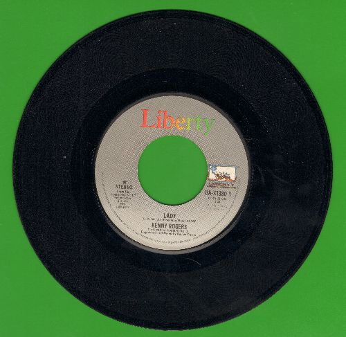 Rogers, Kenny - Lady/Sweet Music Man  - EX8/ - 45 rpm Records