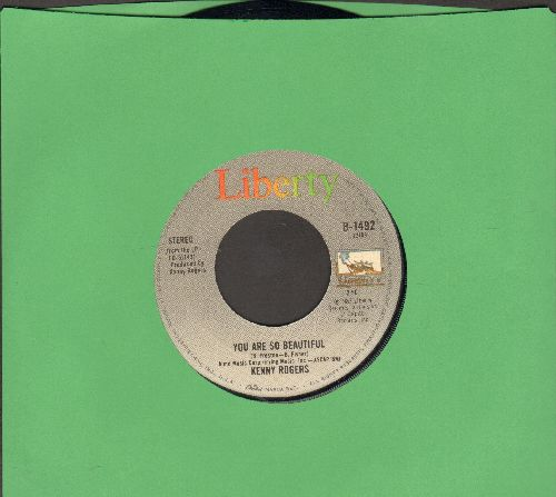 Rogers, Kenny - You Are So Beautiful/We've Got Tonight  - EX8/ - 45 rpm Records