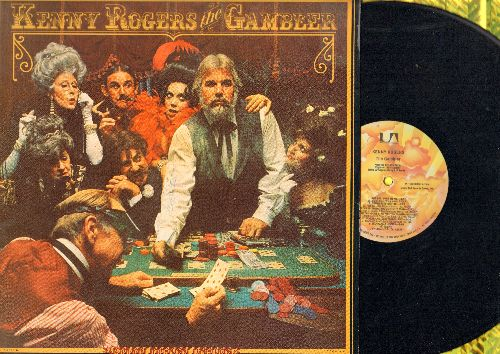 Rogers, Kenny - The Gambler: She Believes In Me, Morgana Jones, Making Music For Money (vinyl LP record) - NM9/EX8 - LP Records