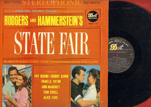 Boone, Pat, Bobby Darin, Ann-Margret, others - State Fair: Original Motion Picture Sound Track - includes Our State Fair, It Might As Well Be Spring, It's A Grand Night For Singing, This Isn't Heaven, The Little Things In Texas (Vinyl STEREO LP record, NI