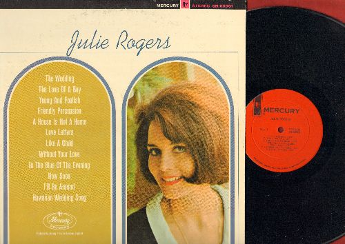 Rogers, Julie - Julie Rogers: The Wedding, Friendly Persuasion, Hawaiian Wedding Song, Love Letters (Vinyl STEREO LP record) - NM9/EX8 - LP Records