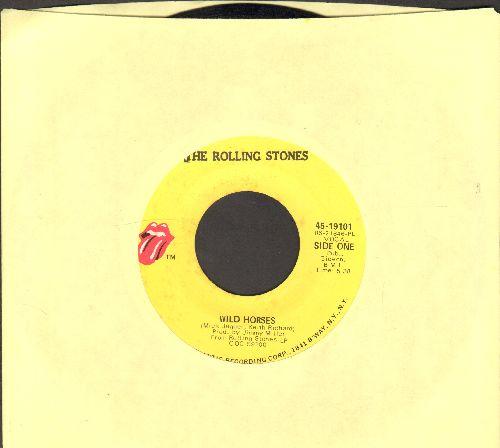 Rolling Stones - Wild Horses/Sway  - EX8/ - 45 rpm Records