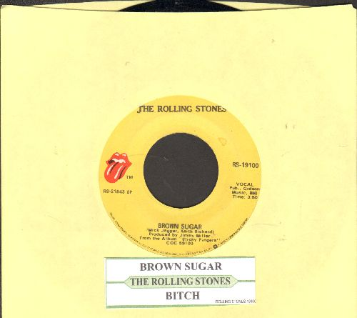 Rolling Stones - Brown Suagr/Bitch (with juke box label) - NM9/ - 45 rpm Records