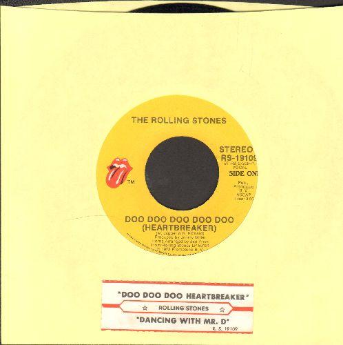 Rolling Stones - Doo Doo Doo Doo Doo (Heartbreaker)/Dancing With Mr. D. (with juke box label) - EX8/ - 45 rpm Records